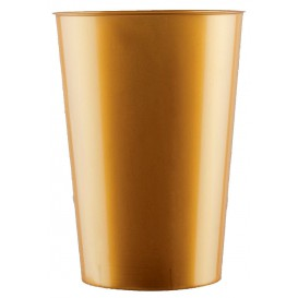 Vaso de Pastico Oro PS 200ml (50 Uds)