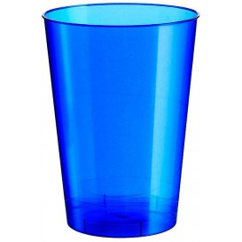 Vaso de Plastico Moon Azul Pearl PS 230ml (500 Uds)