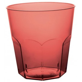 Vaso Plastico Burdeos Transp. PS Ø73mm 220ml (500 Uds)