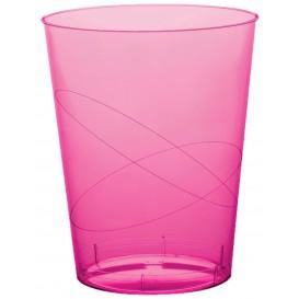 Vaso de Pastico Fucsia Transp. PS 200ml (500 Uds)