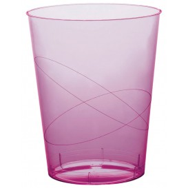 Vaso de Plastico Moon Lila Transp. PS 350ml (20 Uds)