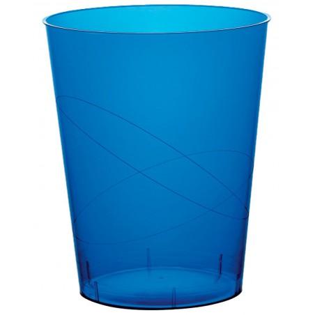Vaso de Pastico Azul Transp. PS 350ml (50 Uds)
