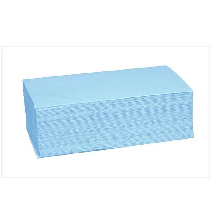 Toalla de Papel Secamanos Azul 1 Capa Z (4.560 Uds)