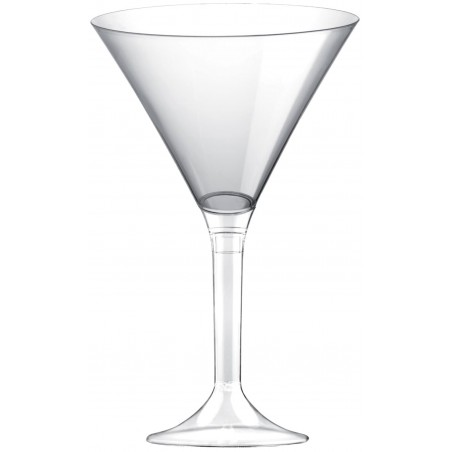 Copa Plastico Cocktail Pie Transparente 185ml 2P (200 Uds)