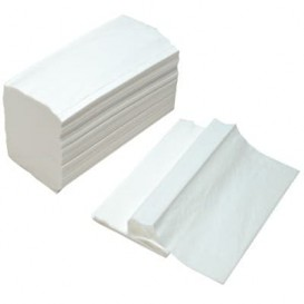 Toalla Papel Secamanos Tissue Blanco 2 Capas Z (3.000 Uds)