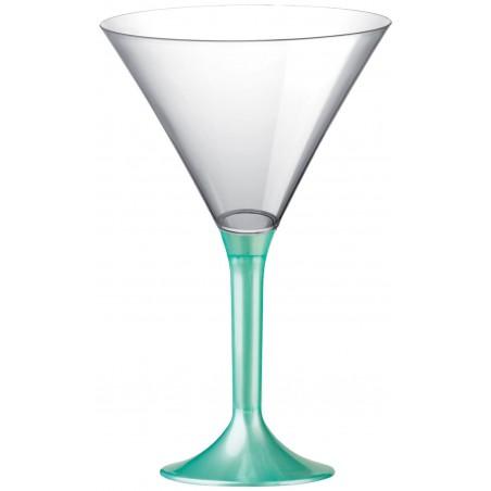 Copa Plastico Cocktail Pie Tiffany Perlado 185ml 2P (200 Uds)