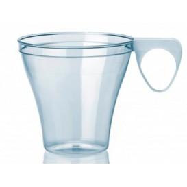 Taza de Plastico Transparente 80ml (40 Uds)