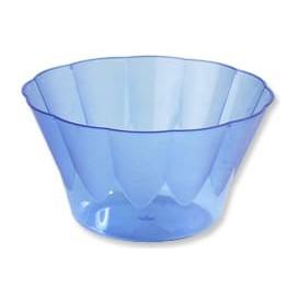 Copa Royal para Coctail Azul de Plastico 400ml (30 Uds)