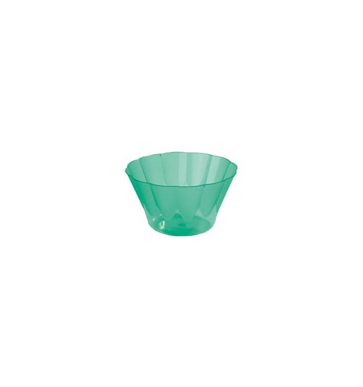 Copa Royal para Coctail Verde de Plastico 300ml (560 Uds)