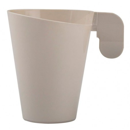 Taza de Plastico Design Crema 155ml (144 Uds)
