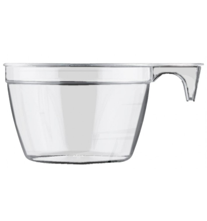 Taza de Plastico PS Cup Transparente 90ml (50 Uds)