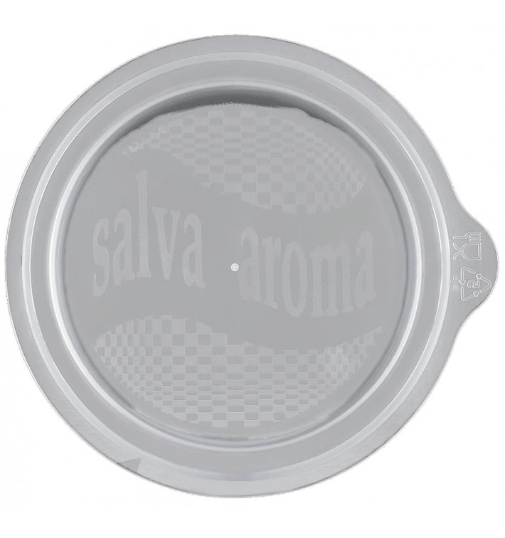Tapa Microondable PP para Taza 90ml (450 Uds)
