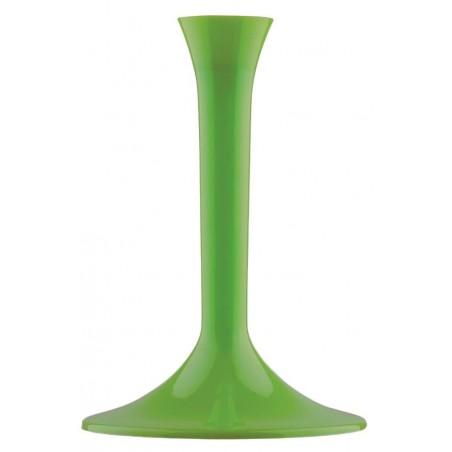 Pie Verde Lima de plástico para Copa (20 Uds)