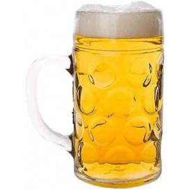 Jarra de Plastico para Cerveza Transp. Ø105mm 1000ml (1 Ud)