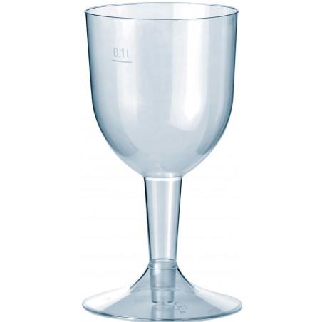 Copa de Plastico Premium Agua o Vino 140ml 2P (500 Uds)