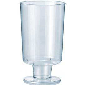 Copa con Pie de Plastico 150ml 1P (12 Uds)