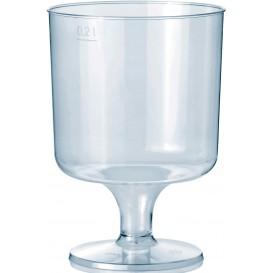 Copa con Pie de Plastico 200ml 1P (400 Uds)