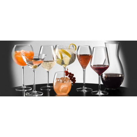 Copa de Plastico para Vino TT Transp. 510ml (1 Ud)