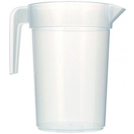 Jarra Inyectada Traslúcida PP 1.000 ml (120 Unidades)