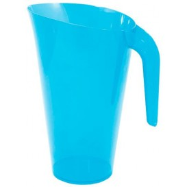 Jarra Plástico Turquesa Reutilizable 1.500 ml (1 Unidad)