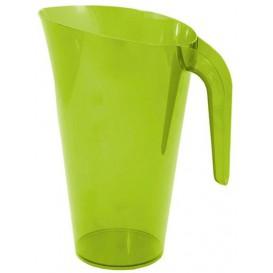 Jarra Plástico Verde Reutilizable 1.500 ml (1 Unidad)
