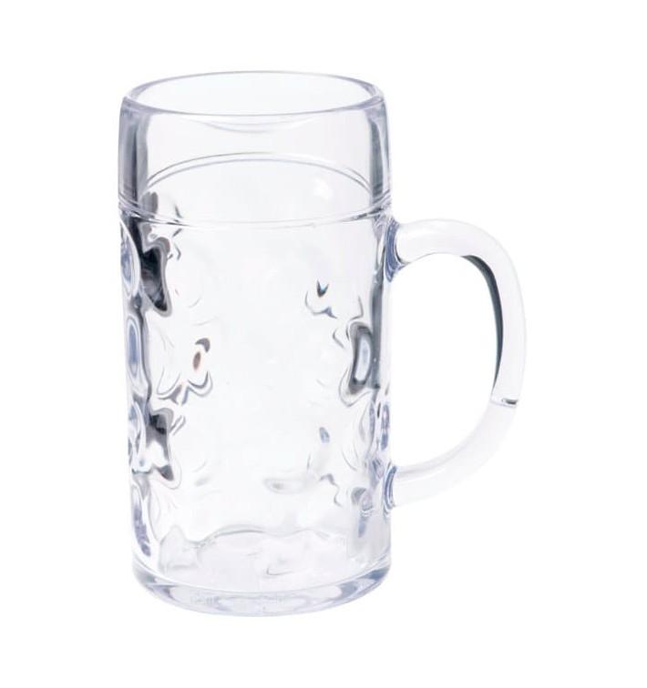 Jarra Reutilizable SAN para Cerveza Ø77mm 500ml (6 Uds)