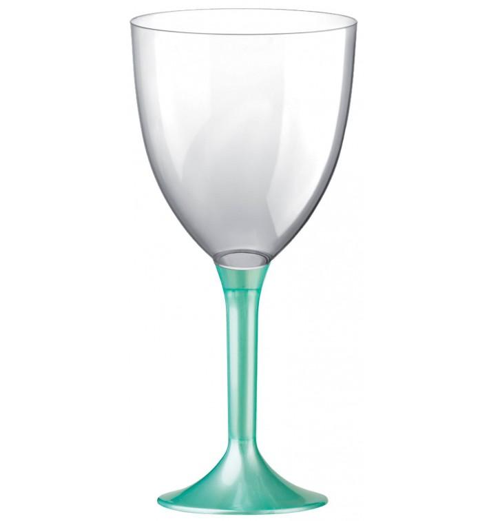Copa de Plastico Vino con Pie Tiffany Perlado 300ml (200 Uds)