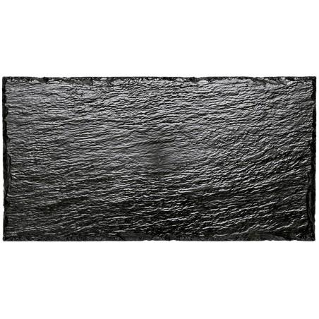 Bandeja Reutilizable PS Imitación Pizarra 30x15,8 cm (100 Uds)