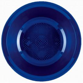 Plato de Plastico Hondo Azul Round PP Ø195mm (600 Uds)