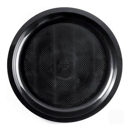 Plato de Plastico Negro Round PP Ø290mm (150 Uds)