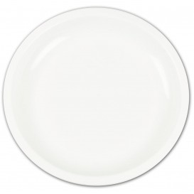 Plato de Plastico Blanco Ø235mm (150 Uds)