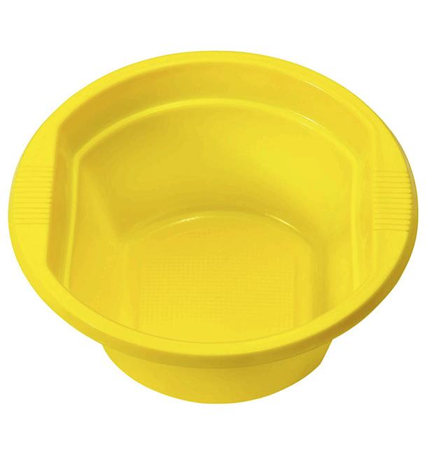 Bol de Plástico PS Amarillo 250ml Ø12cm (660 Uds)
