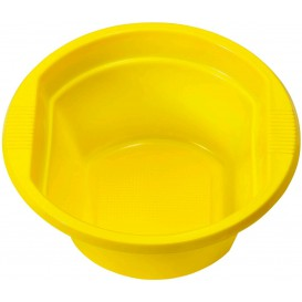 Bol de Plastico PS Amarillo 250ml Ø12cm (30 Uds)