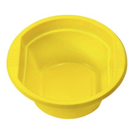 Bol de Plastico PS Amarillo 250ml Ø12cm (30 Uds)