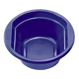 Bol de Plástico PS Azul Oscuro 250 ml Ø12cm (30 Uds)