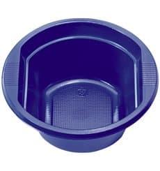 Bol de Plastico PS Azul Oscuro 250 ml Ø12cm (30 Uds)