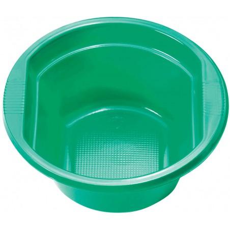 Bol de Plástico PS Verde 250ml Ø12cm (660 Uds)