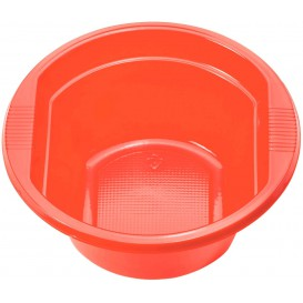 Bol de Plástico PS Rojo 250 ml Ø12cm (660 Uds)