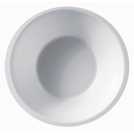 Bol de Plastico Blanco Ø155mm 450ml (300 Uds)