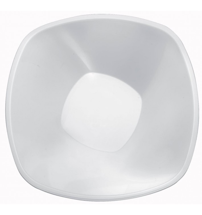 Bol de Plastico Blanco Square PP Ø277mm 3000ml (3 Uds)