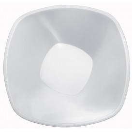 Bol de Plastico Blanco Square PP Ø277mm 3000ml (15 Uds)