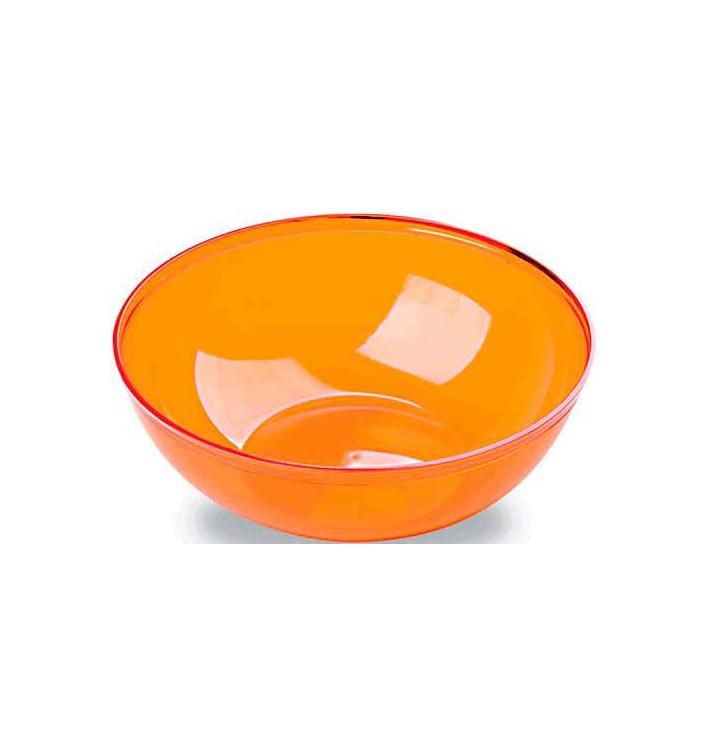 Bol de Plástico Naranja 3500ml Ø 27 cm (20 Uds)