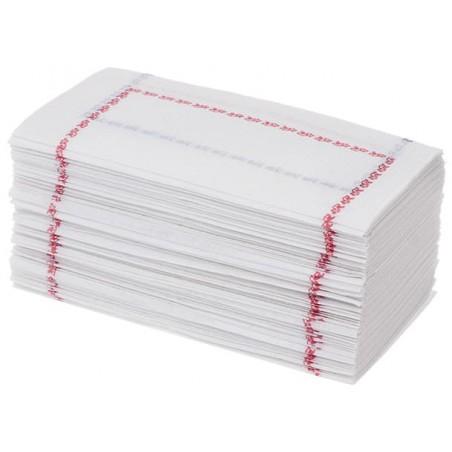 Servilleta de Papel 14x14 Zigzag Roja y Azul (250 Uds)