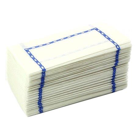 Servilleta de Papel Zigzag Blanco Cenefa 14x14cm (300 Uds)