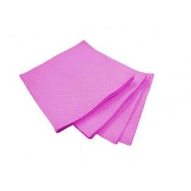 Servilleta de Papel Micropunto 20x20cm 2C Fucsia (2.400 Uds)