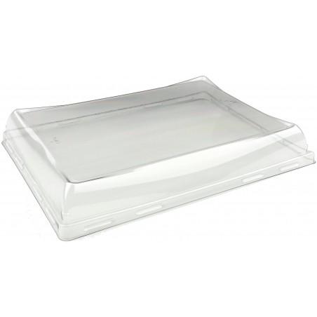 Tapa de Plástico PET para Bandeja de 220x160mm (300 Uds)
