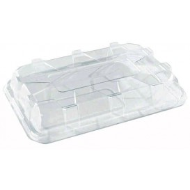 Tapa de Plastico Transp. para Bandeja de 350x240mm (25 Uds)