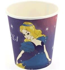 Vaso Carton Diseño Princesas 200 ml (500 Uds)