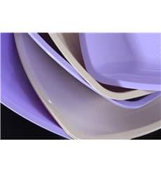 Plato de Plastico Llano Beige Square PP 180mm (300 Uds)