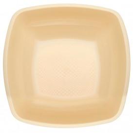 Plato de Plastico Hondo Crema PP 180mm (25 Uds)